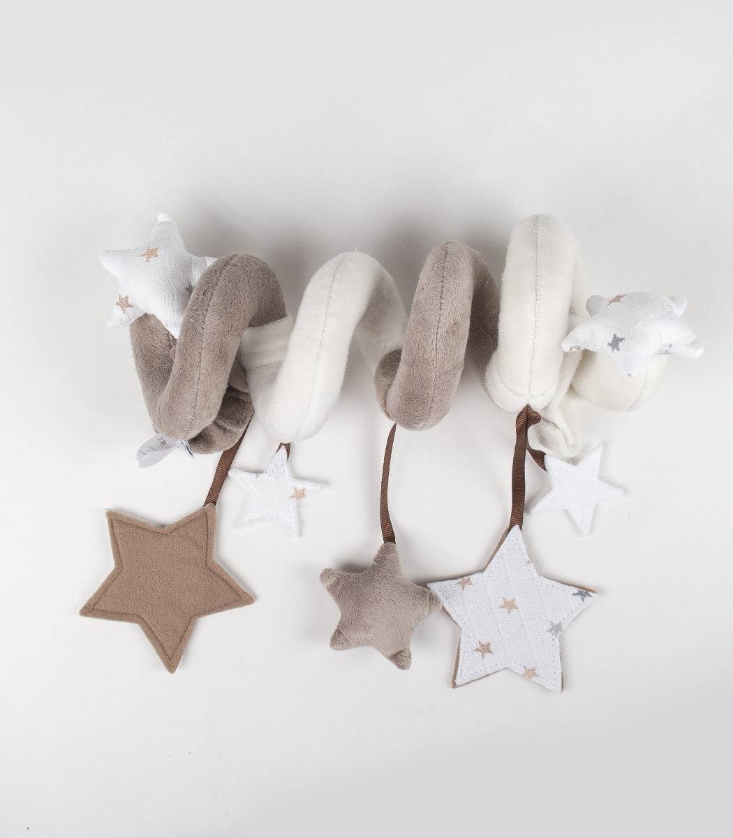 Baby Spielzeug zum Aufhängen Spirale Mobile Babyschale Maxi Cosi Babybett